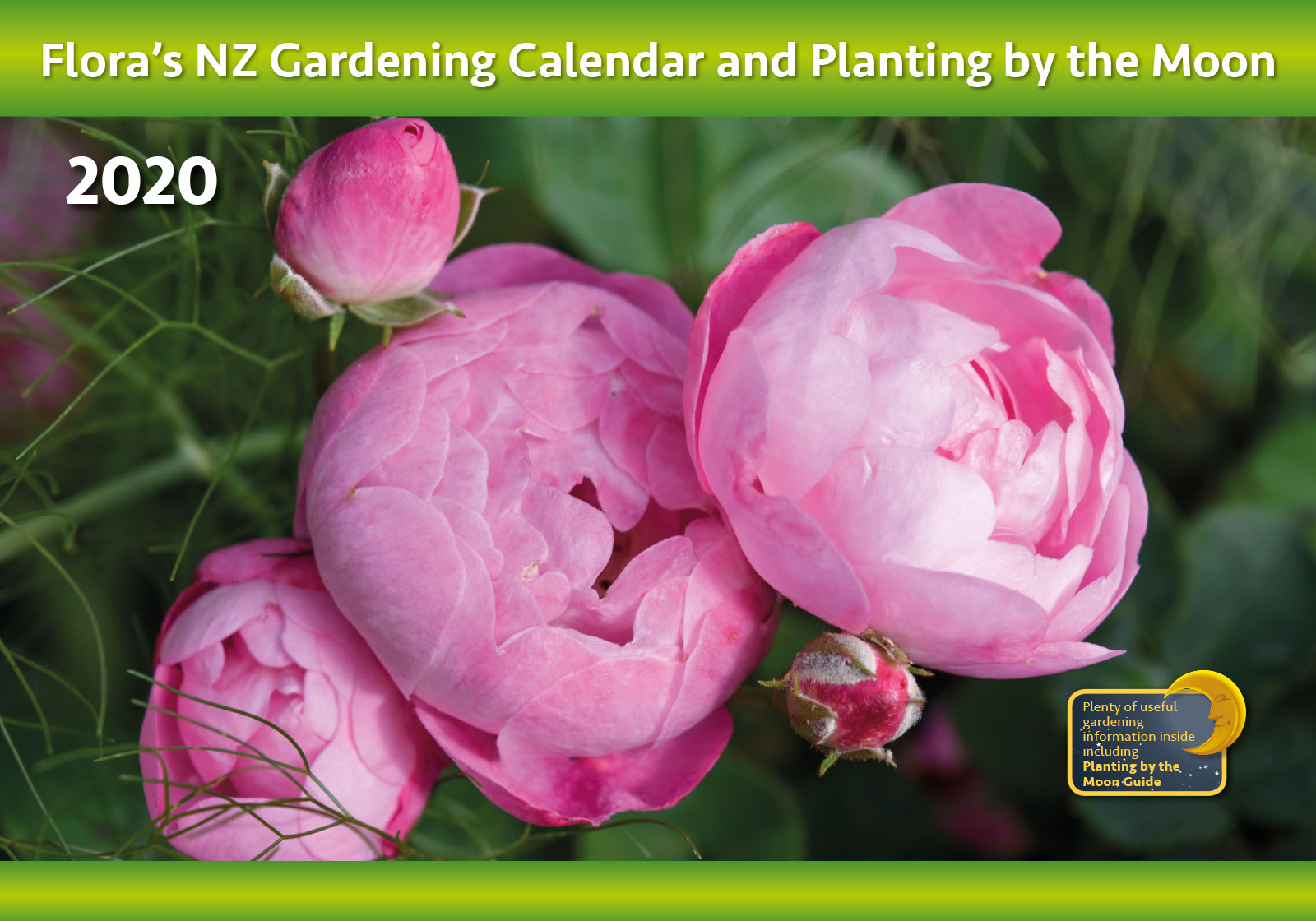 Flora's Gardening Calendar and Planting by the Moon 2019